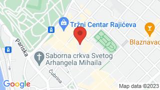 Београдска филхармонија map