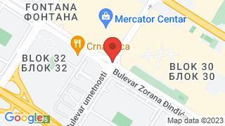 Central Pub map
