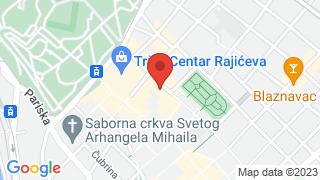 Југословенска кинотека map