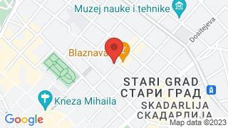 Ива New Balkan Cuisine map