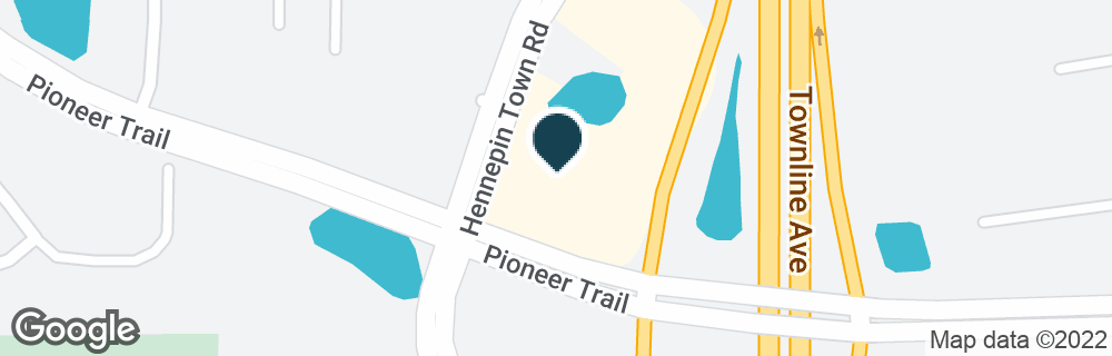 Google Map of10180 HENNEPIN TOWN RD