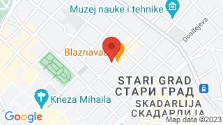 Gospodar Jevremova street map