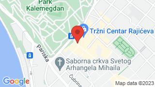 Rajiceva shopping center map