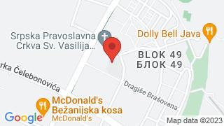 Institucija map