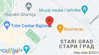 УК Стари град map