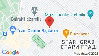 Jevremova 25 map