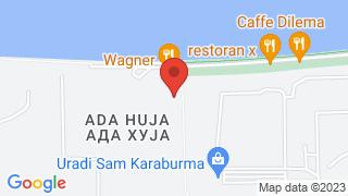 Ada Huja map