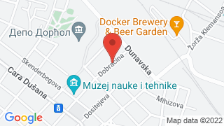 Dorcol Platz map