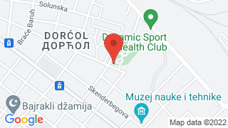 Дорћол map