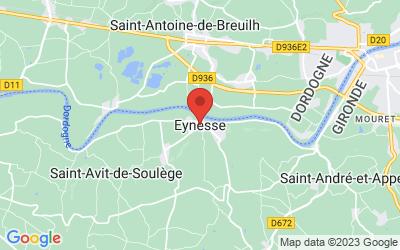 33220 Eynesse, France