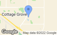 Map of Cottage Grove, MN