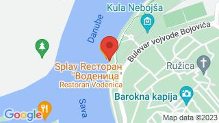 Vodenica map