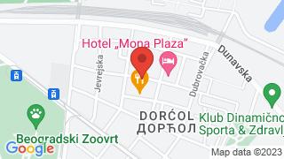Дорћолско народно позориште map