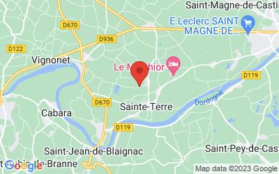 43 Guillemin, 33350 Sainte-Terre, France