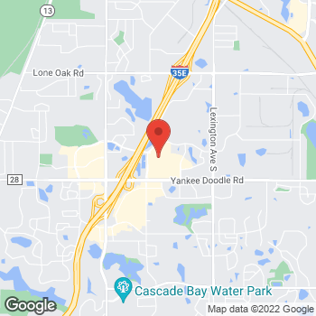 Map of Bed Bath & Beyond at 1295 Promenade Place, Eagan, MN 55121