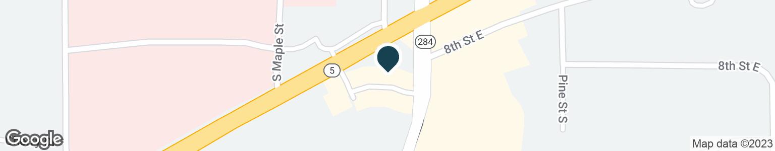 Google Map of121 DEPOT DR