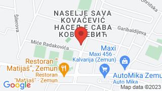 Франстал Апартмани map