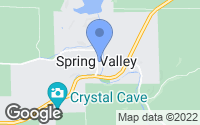 Map of Spring Valley, WI
