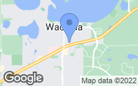 Map of Waconia, MN