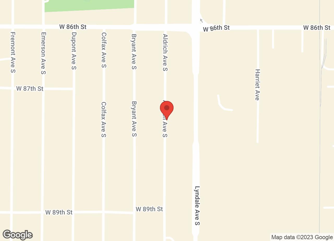 Google Map of VCA Bloomington Animal Hospital