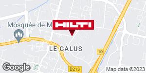 Get directions to Hilti Store chez Point P - Bordeaux / Mérignac