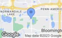Map of Bloomington, MN