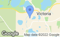Map of Victoria, MN