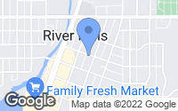 Map of River Falls, WI