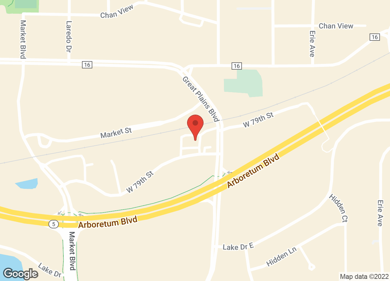 Google Map of VCA Chanhassen Animal Hospital