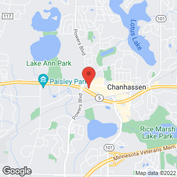 Map of Noodles & Company at 945 West 78th Street, Chanhassen, MN 55317