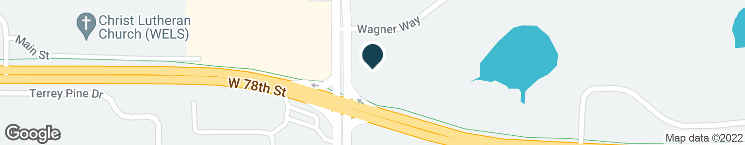 Google Map of16395 WAGNER WAY