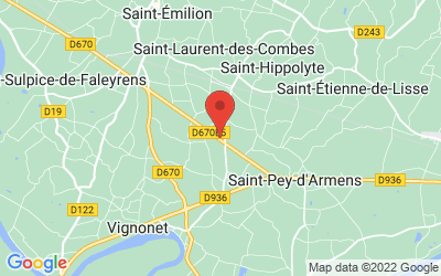 9 Nauve Sud, 33330 Saint-Laurent-des-Combes, France