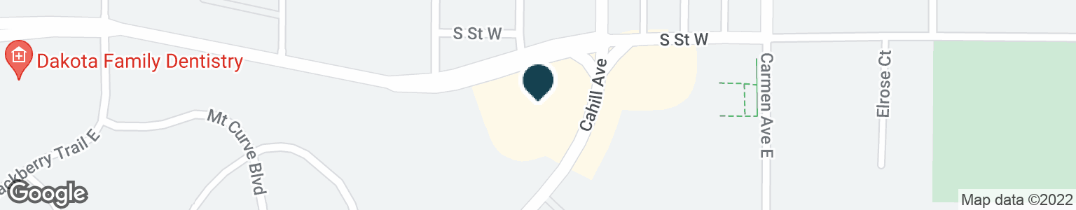 Google Map of5825 CAHILL AVE