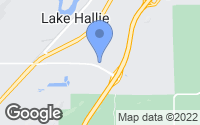 Map of Lake Hallie, WI