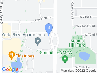 Map of Cat Sitting In Your Home Dog Boarding options in Edina | Boarding