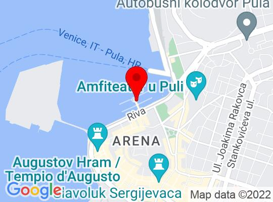 Google Map of Pula