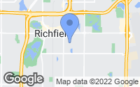 Map of Richfield, MN