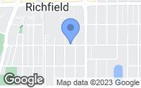 Map of Richfield, MN