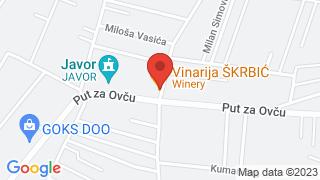 Vinarija Škrbić Inn map