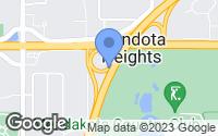 Map of Mendota Heights, MN
