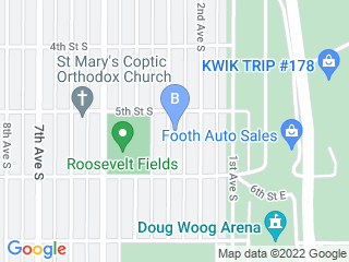 Map of Whiskers n Paws Dog Boarding options in South Saint Paul | Boarding