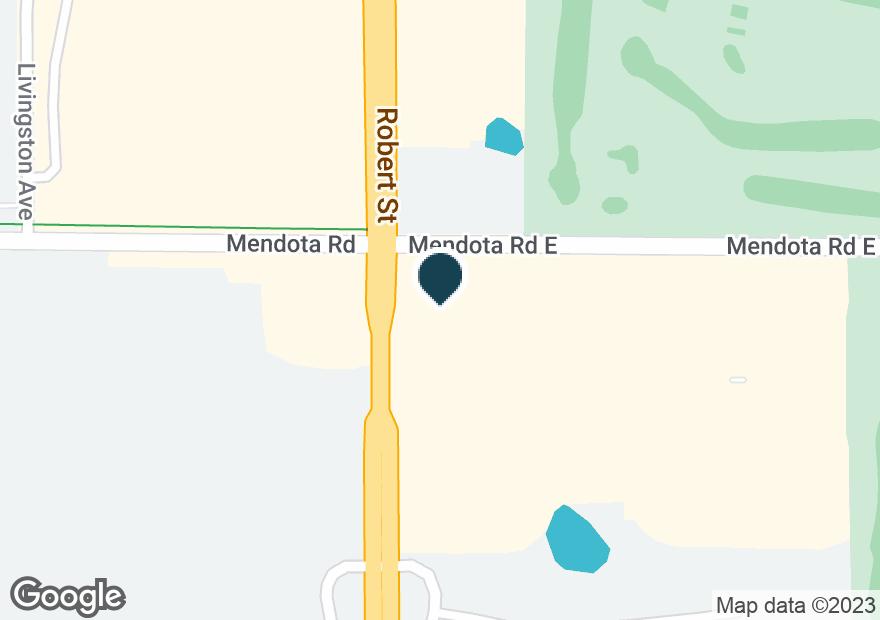 Google Map of4560 S ROBERT TRL