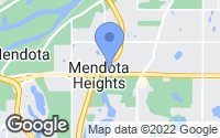 Map of Mendota Heights, MN