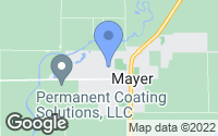 Map of Mayer, MN