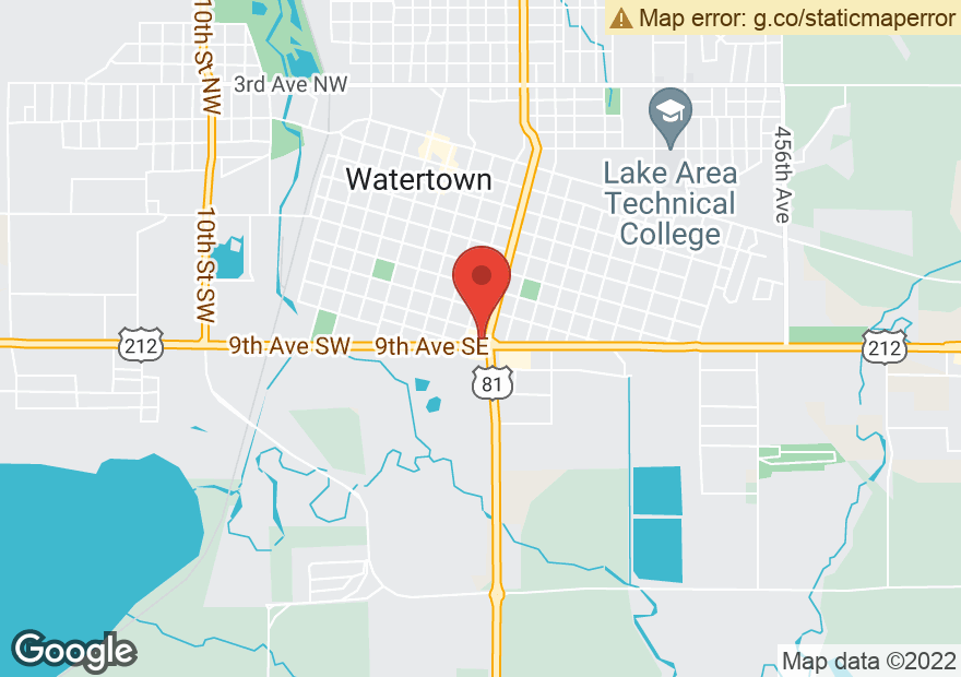Google Map of 421 9TH AVE SE