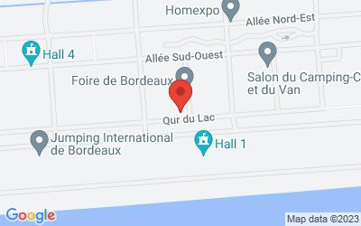 Parc des expositions de Bordeaux-Lac 33030 Bordeaux Lac Cedex