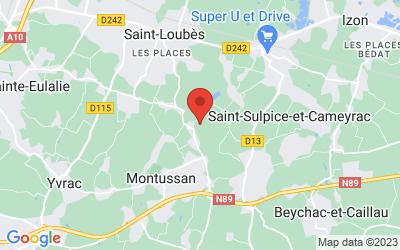 81 Route de Sorbede, 33450 Montussan, France