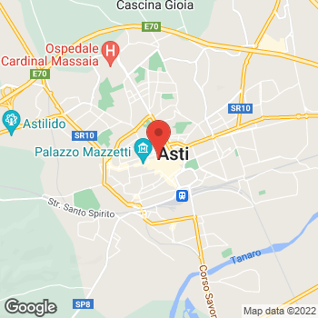 Map of Foot Locker Asti at Corso Alfieri 293, Asti,  14100