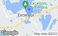 Map of Excelsior, MN
