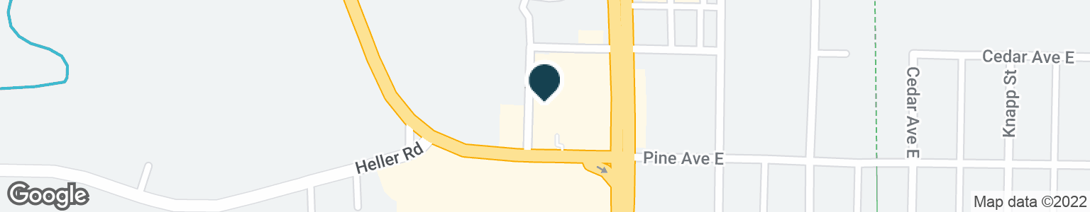 Google Map of121 PINE AVE W
